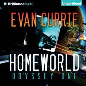 Homeworld: Odyssey One by Evan Currie cover image