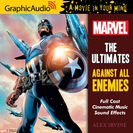 "The Ultimates: Against All Enemies by Alex Irvine"" cover image"